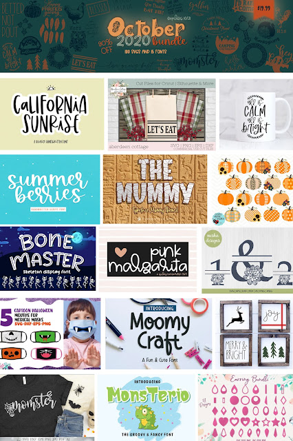 October Bundle from So Fontsy