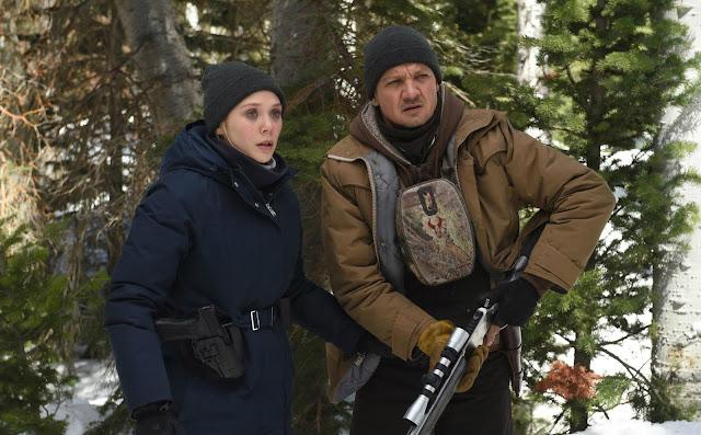 Jeremy Renner, Elizabeth Olsen, Wind River