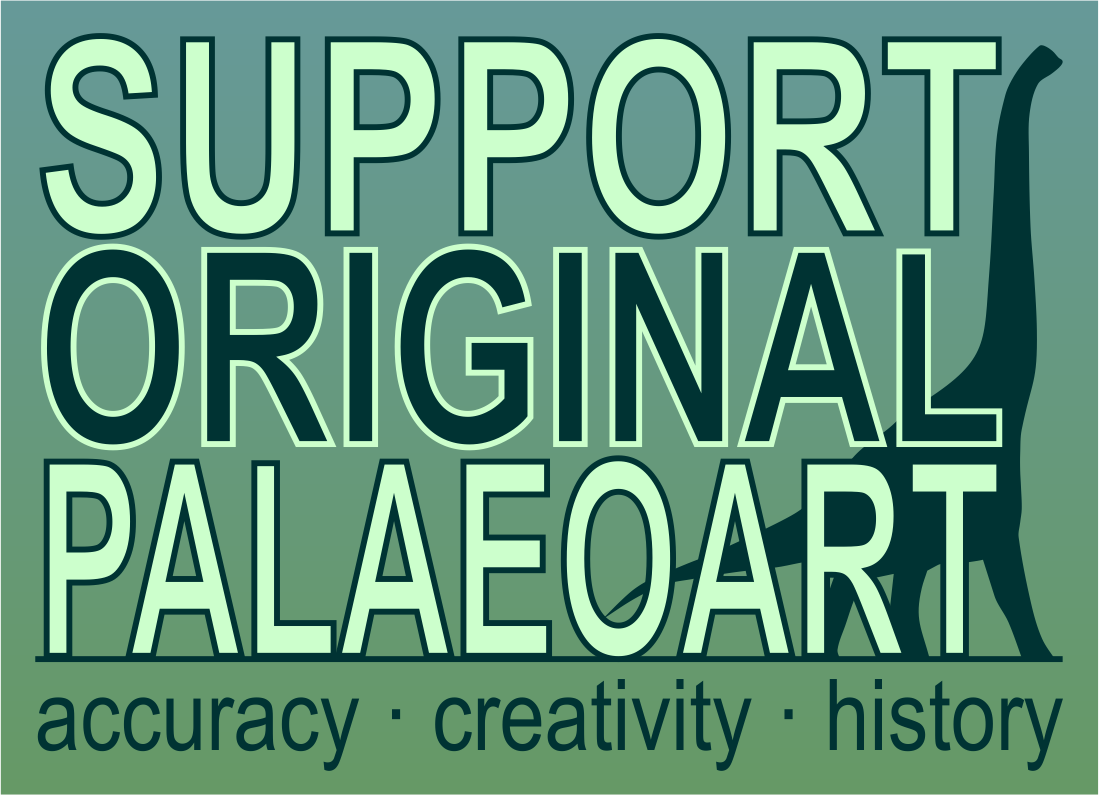 Support Original Palaeoart