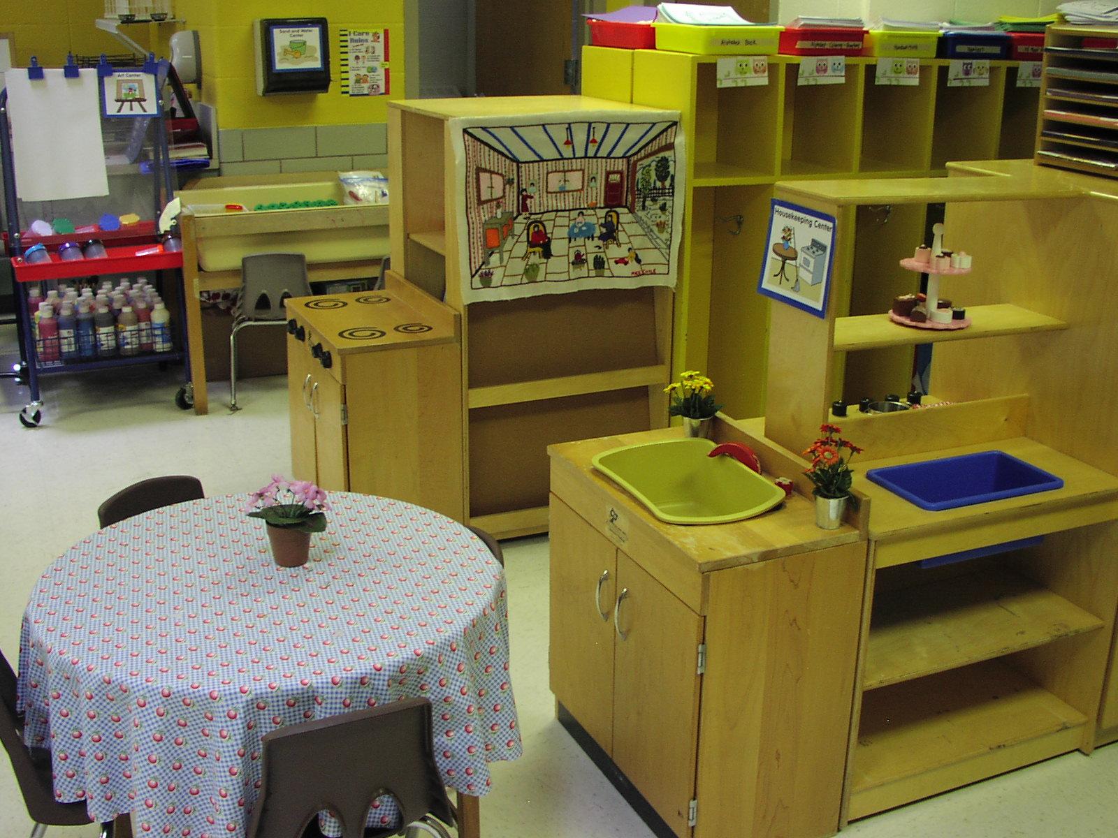 corner kitchen rug artwork for walls keen on kindergarten: classroom pics!