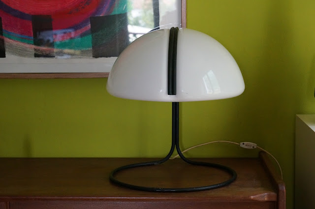 Harvey guzzini conchiglia lamp design lampe 60s 70s années 60 70