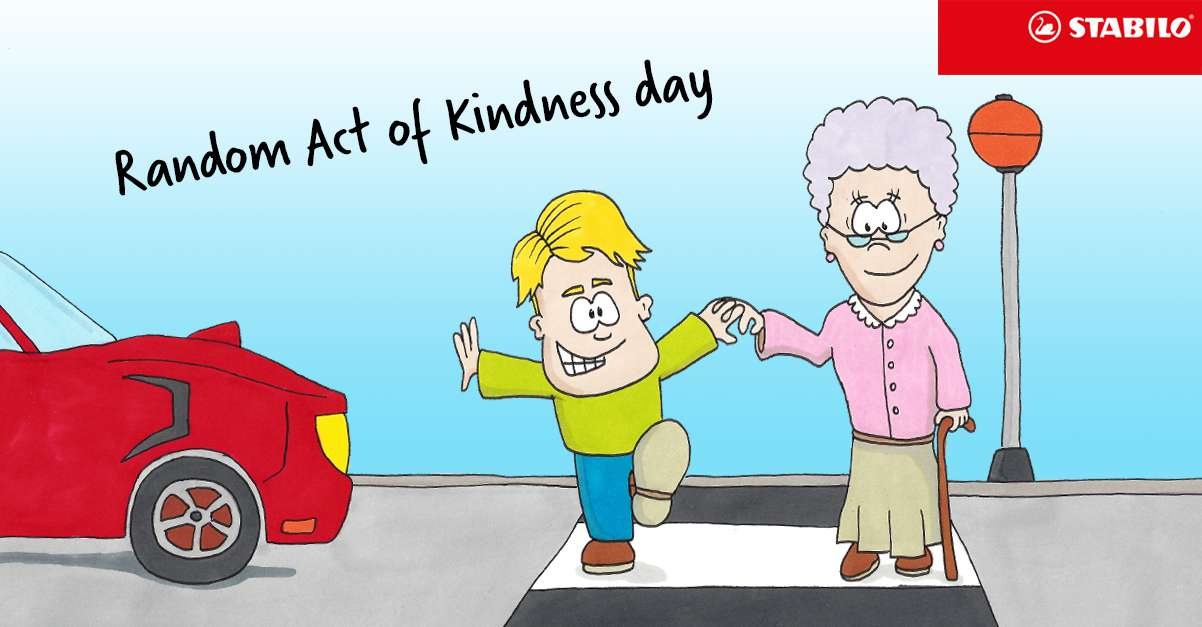 Random Act of Kindness Day Wishes For Facebook