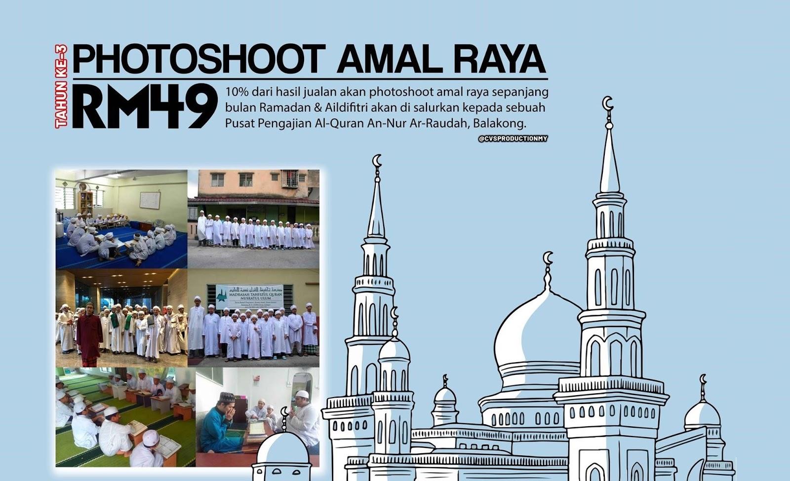 Photoshoot Amal CVS Production