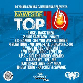 DJ Young Samm & DJ Indurance - Nawfside Top 10