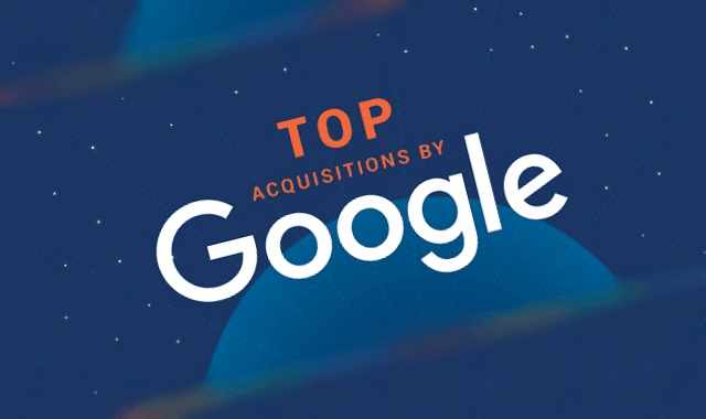 Top Acquisitions By Google