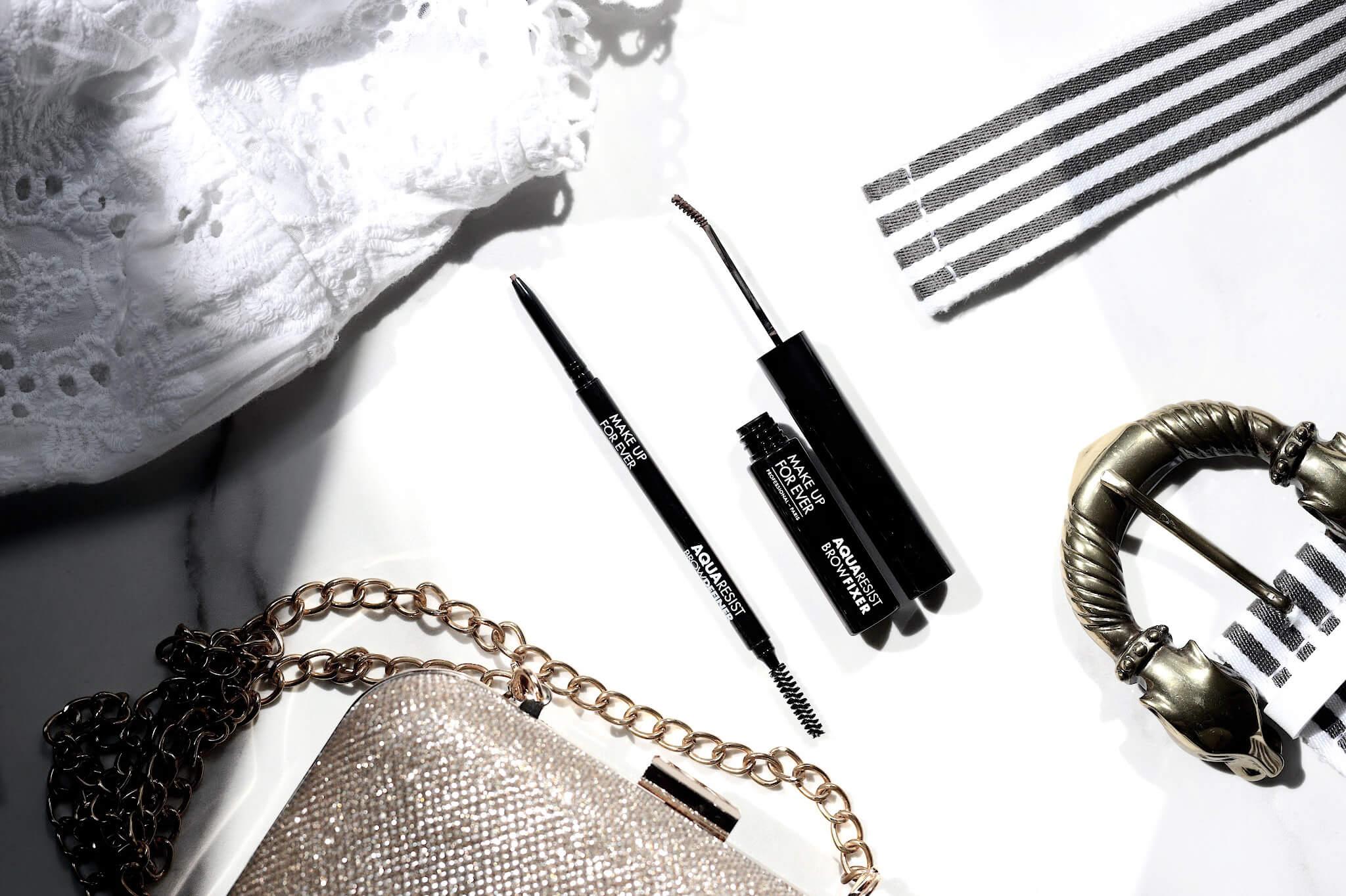 Make Up For Ever Aqua Resist Brow Fixer Mascara Sourcils Crayon