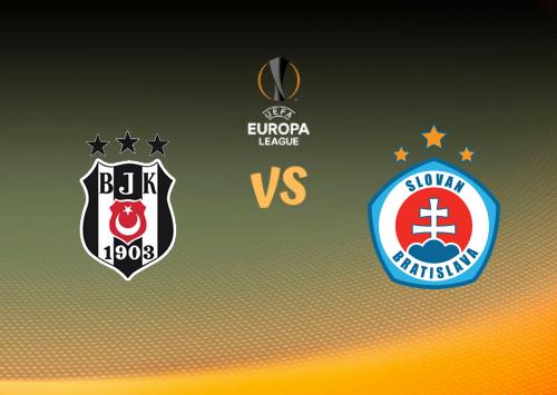 Beşiktaş vs Slovan Bratislava  Resumen