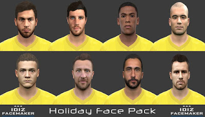 PES 2016 Holiday Facepack By IDIZ
