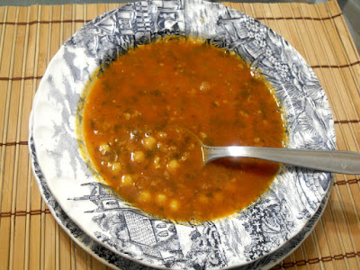 Sopa Harira.