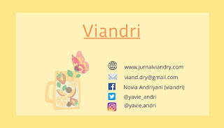 Kartu Nama Viandri