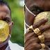 Lalaki sa India, Nagpagawa ng Facemask na gawa sa Gold