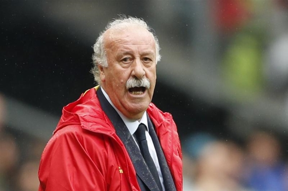 Vicente del Bosque refused to talk about his future when asked if he will still be in charge of Spain.