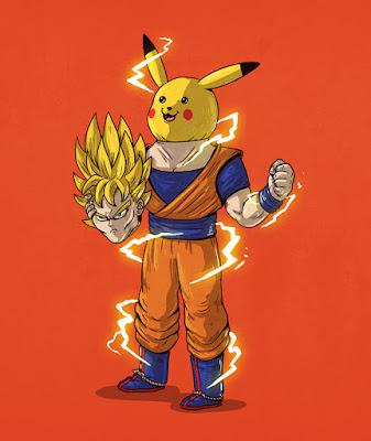 Goku en realidad es Picachu.