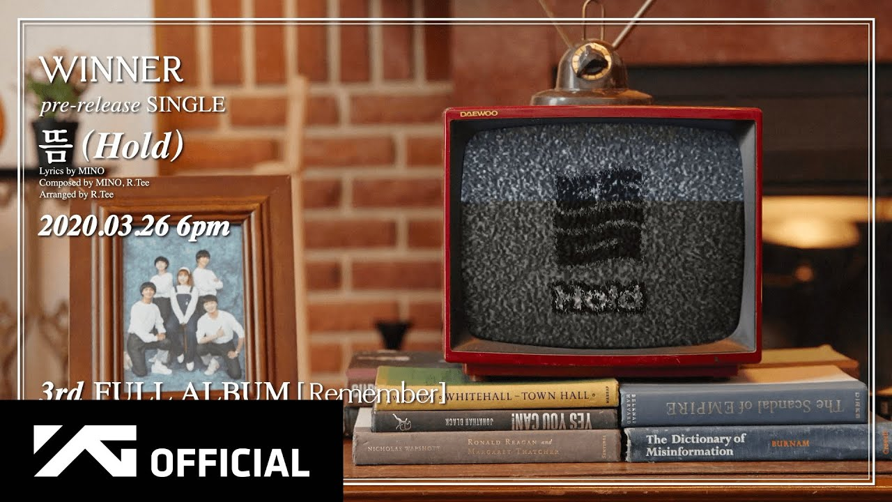 WINNER and AKMU's Suhyun Watch TV Together in 'Hold' MV Teaser