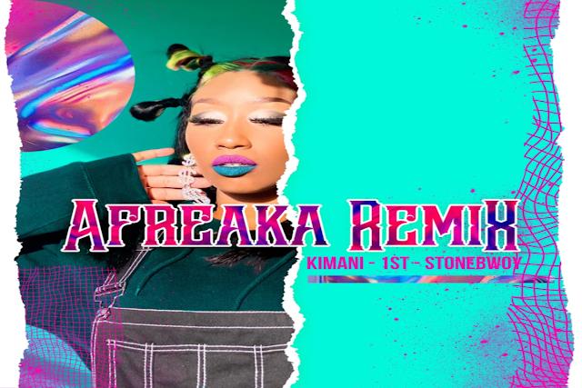 Victoria Kimani X FKI 1st ft Stonebwoy – Afreaka [Remix]