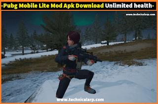 Pubg Mobile Lite Mod Apk Download Unlimited health  Money