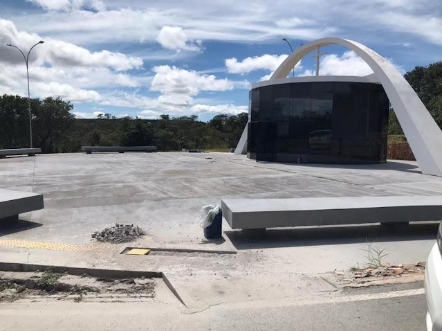 Monumento Natural Dom Bosco ganha mais acessibilidade