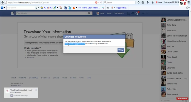 anytrick to restore my all deleted facebook messages