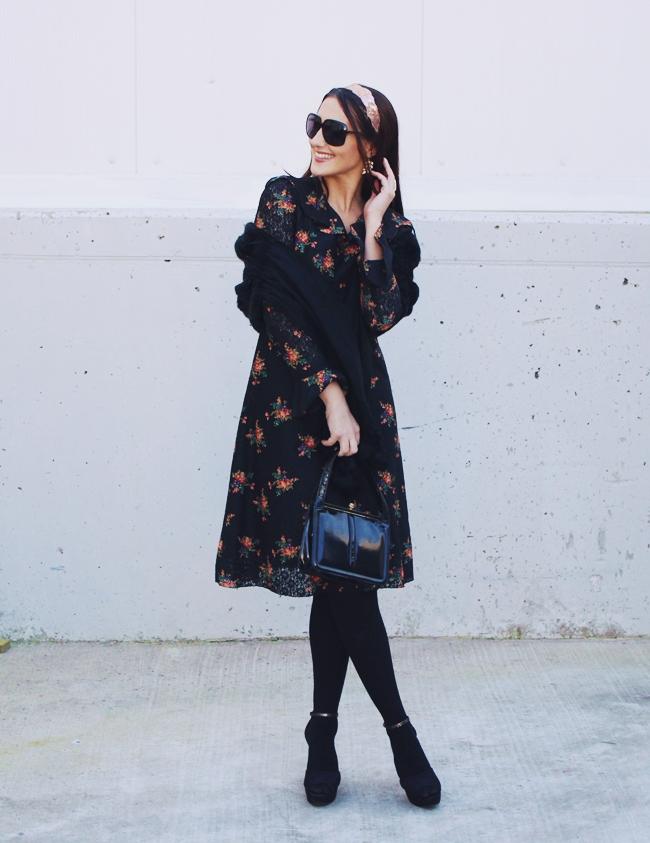 Betty Barclay vintage Venetian lace dress