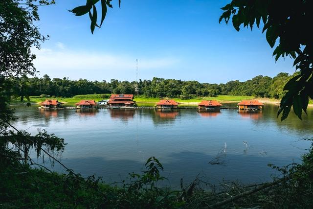 Pousada Uakari Lodge, na Amazônia