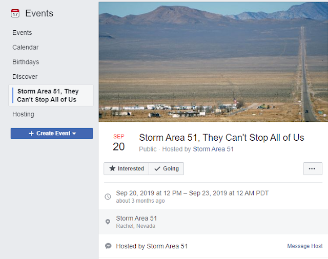 Area 51 Truth History Raid Facebook Event