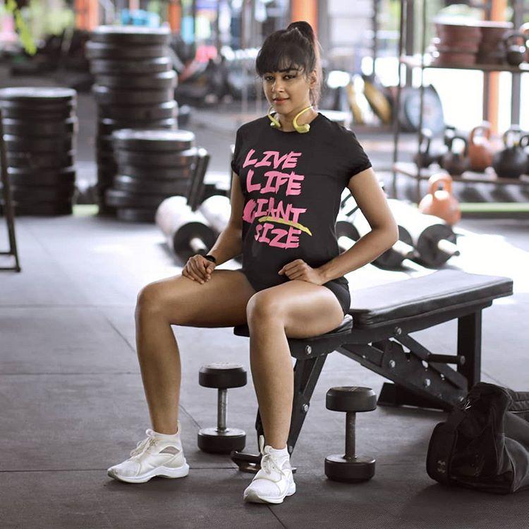 Indian Gym Trainer Photos Sapna Vyas Patel