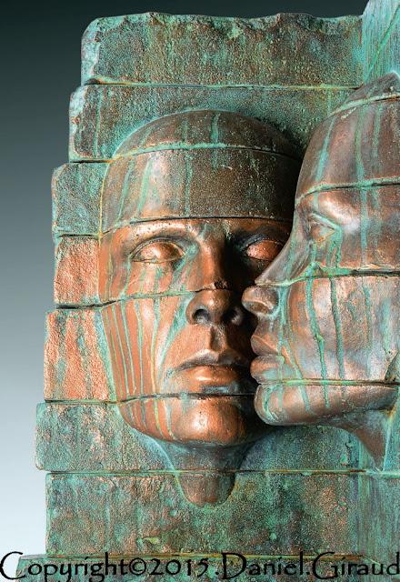 daniel giraud sculpture bronze