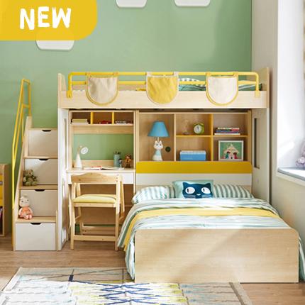 Giường tầng cho bé, giường tầng đẹp cho bé