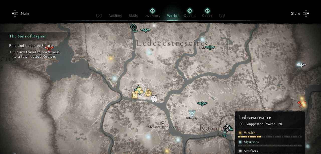 Ingot 18 Map 2