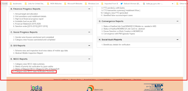 PM Housing List of INDIA , प्रधानमंत्री आवास लिस्ट पंचायत,