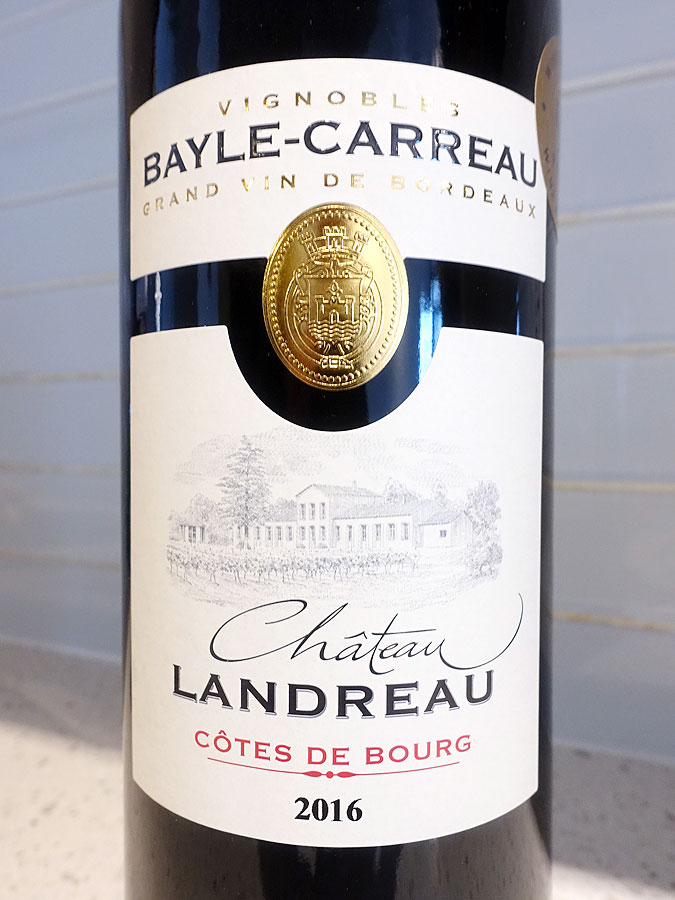 Bayle-Carreau Château Landreau 2016 (90 pts)
