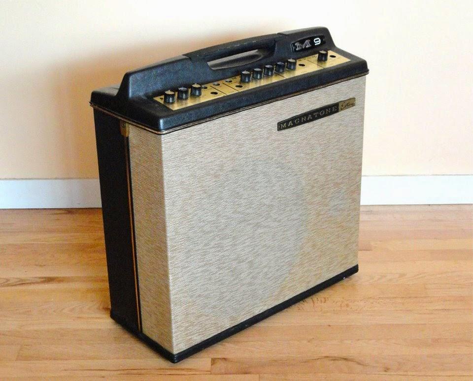 The Unique Guitar Blog Magnatone Amplifiers