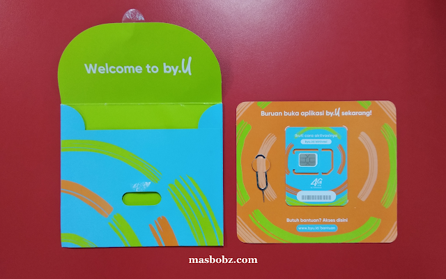 Unboxing Paket SIM Card by U Telkomsel