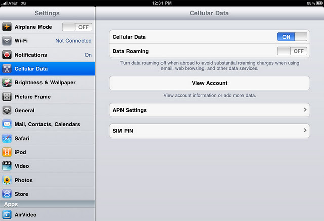How to get apn settings on iphone 5