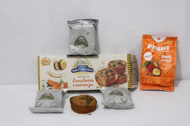 Bizcochitos Naranja y Zanahoria