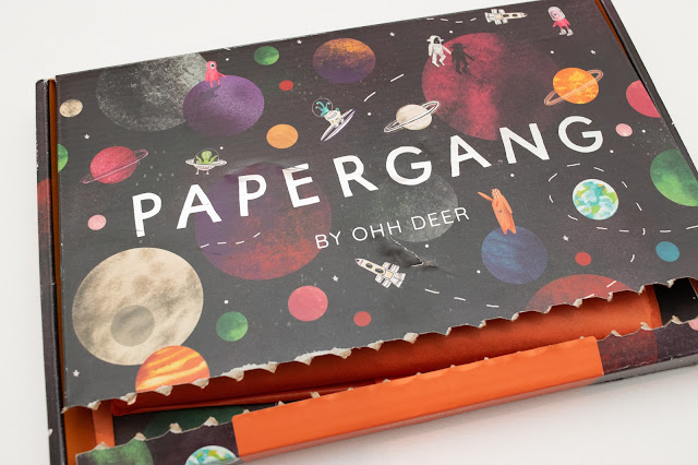 Papergang subscription box packaging - September 2020