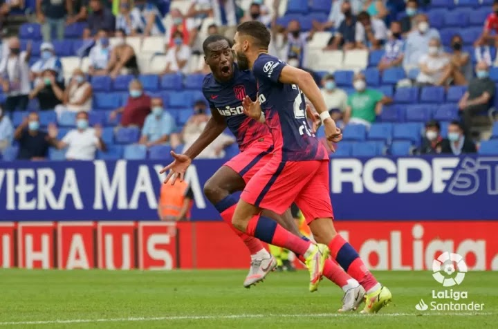 Lemar late goal prevent Atletico from their first defeat of the season