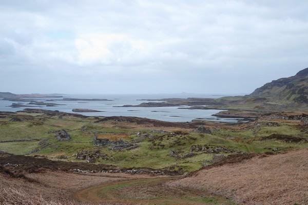 écosse highlands île mull ulva randonnée