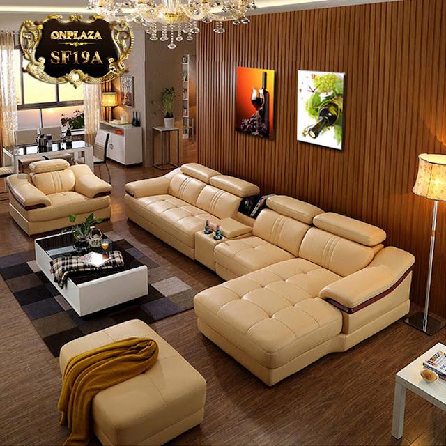 Sofa bọc da SF19
