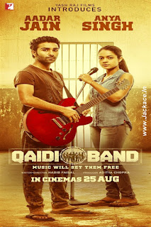 Qaidi Band First Look Poster