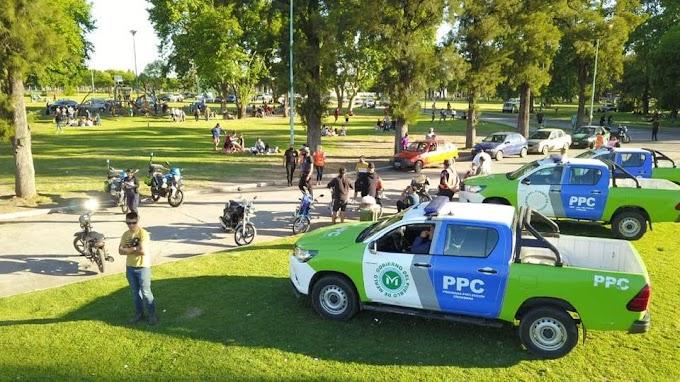 Realizaron un operativo vehícular en el Parque Ferroviario de Libertad