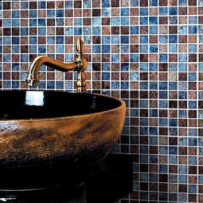 glass mosaic tiles blacksplash crystal mosaic tile bathroom wall colors stickers cheaper tiles