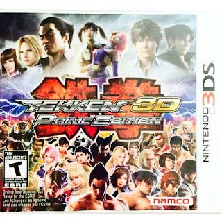 Tekken 3d Prime Edition Cia