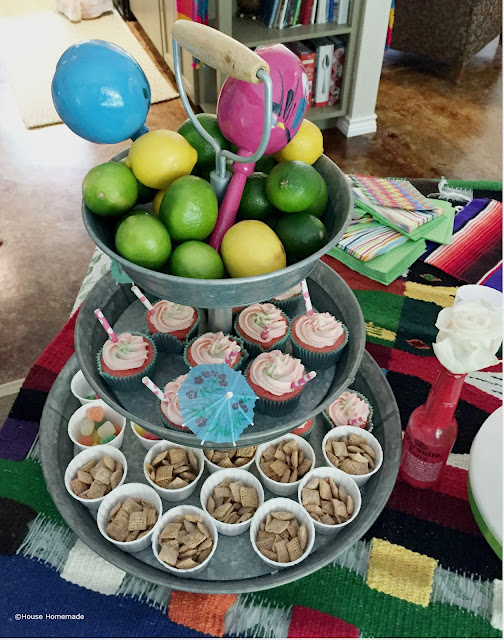 fiesta shower desserts