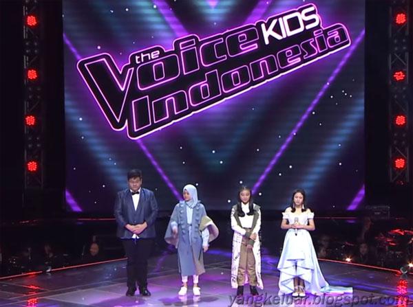 The Voice Kids Indonesia 2018 Season 3 Yang Lolos Grand Final