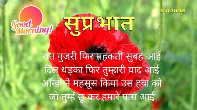 गुड-मोर्निंग-हिन्दी-कोट्स-विथ-इमेज | Good-Morning-Shayari-mage