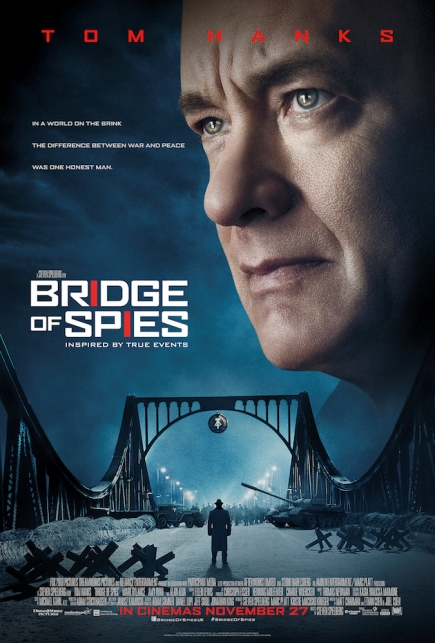 BRIDGE OF SPIES (2015) movie review by Glen Tripollo