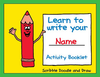 Learn to write your name with practice worksheets