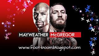 ملخص و مشاهدة نزال فلويد مايويذر Vs كونر مكريجر مباشر - نزال المليار دولار نزال القرن Mayweather-vs-McGregor