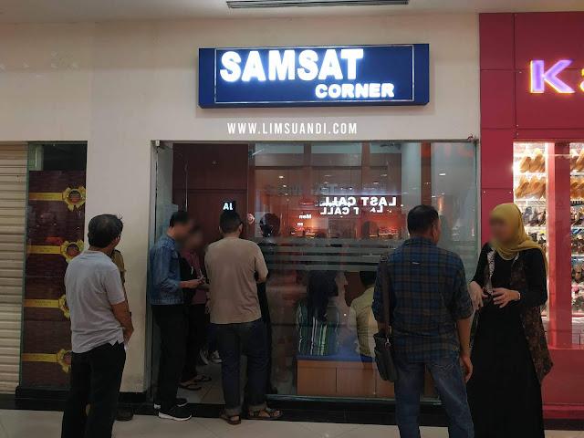 Samsat Corner PS Mall Palembang, Samsat Ps Mall Palembang